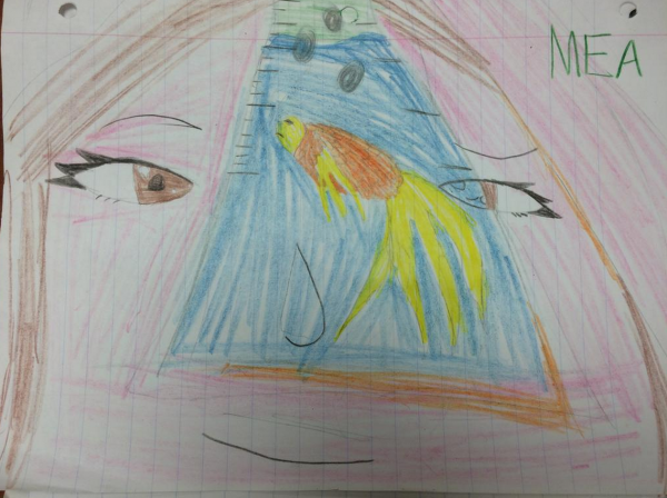 Drawing by Byron MS Student
