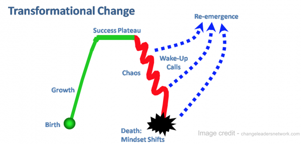 Transformational Change - Beware of pitfalls